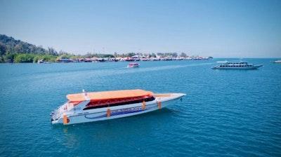 เรือไทเกอร์ไลน์ ไฮสปีด เฟอร์รี่  เรือไทเกอร์ไลน์ ไฮสปีด เฟอร์รี่ (Tigerline Hi-Speed Ferry)
